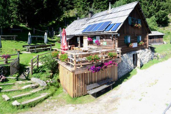 Kling-Hütte auf der Mühldorfer Alm